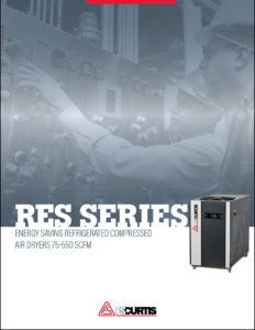 RES Series Refrigerated Compressed Air Dryer